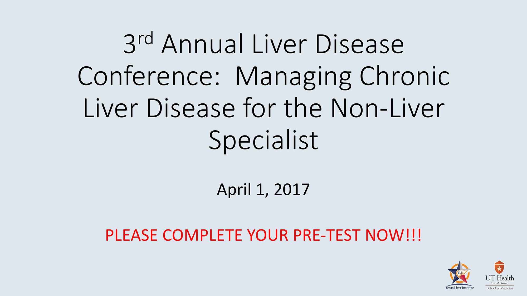 Liver Disease Conference slides
