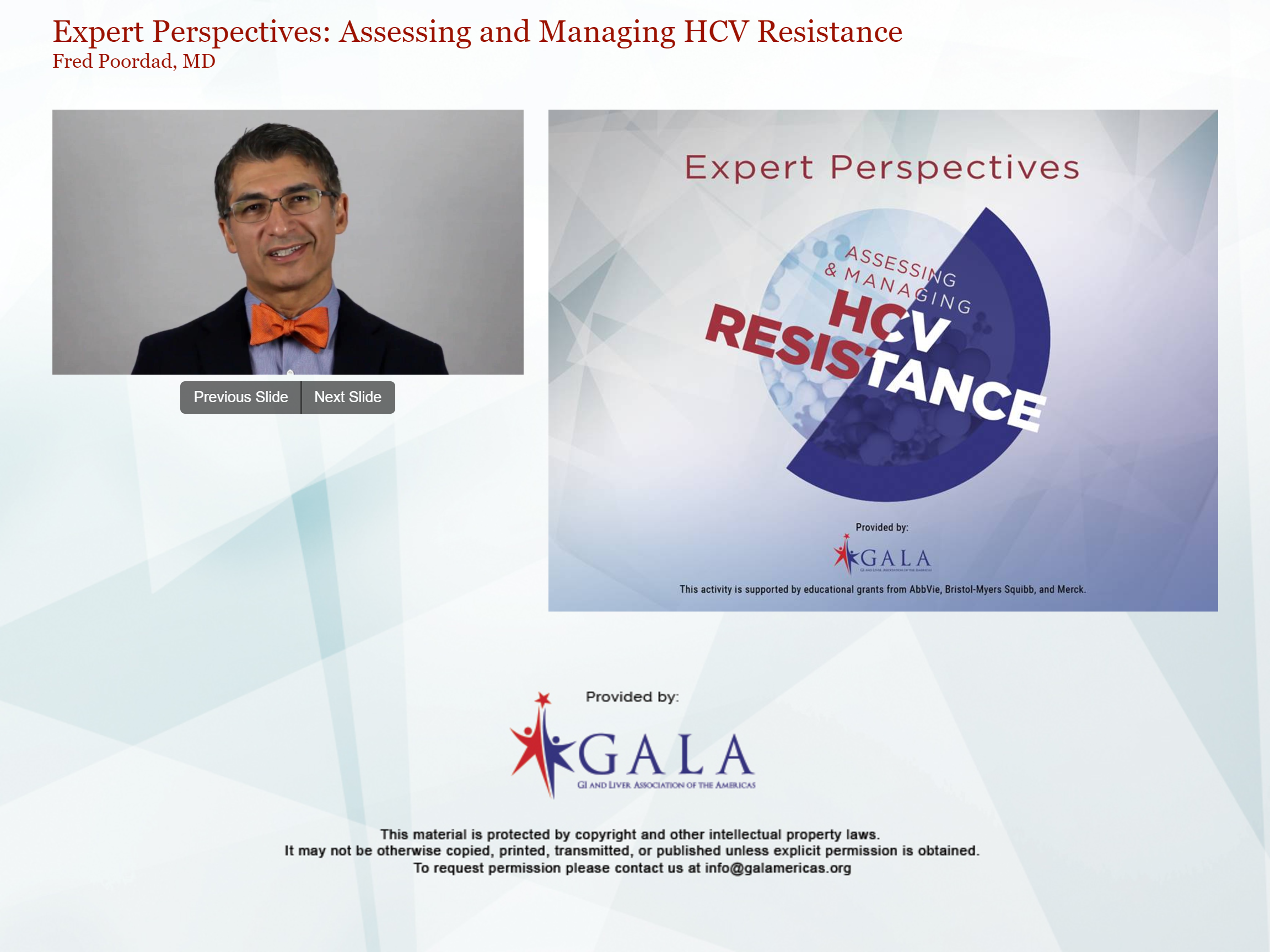 Assessing and Managing HCV Resistance